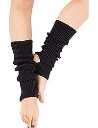 Zomiee - Calcetines de Yoga para Mujer y niña, Calcetines de Entrenamiento sin Dedos,