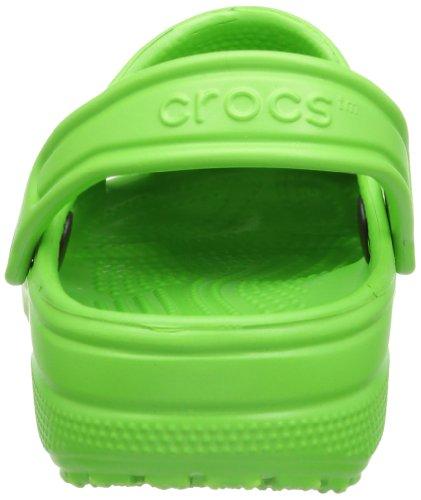 Crocs Classic Kids 1006, Sabot Unisex – Bambini Verde (Lime)