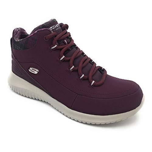 Skechers Damen Stiefeletten Ultra Flex JUST CHILL Bordeaux, Schuhgröße:EUR 39