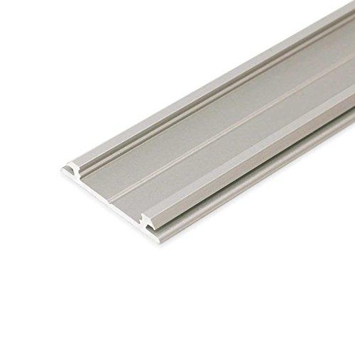 2 m Alu Profil Nito pour bande DEL bande en aluminium profilé rail Barre
