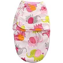 Mantas de Bebé Saco de Dormir Swaddle Blanket Dormir Bebé de Franela Confortable 30*56cm