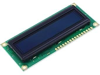 REC001602ARPP5N0 Display OLED alphanumeric 16x2 red Window REC001602ARPP5N00000