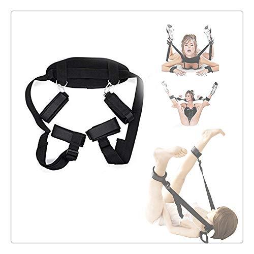 Z-one 1 - Puños suaves y cómodos para mujer, para dormitorio, juegos y brazaletes ajustables
