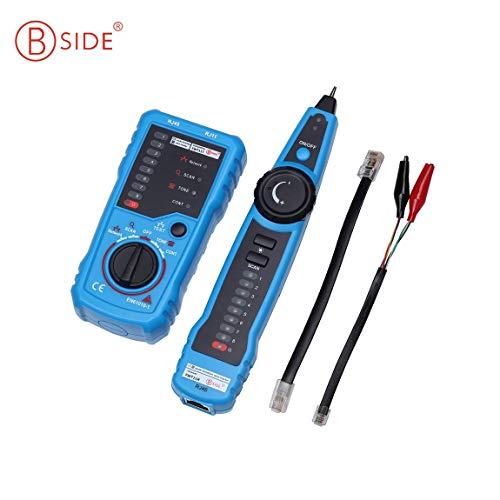 SeniorMar Bside FWT11 Anti-Interferenz Hand Telefon Draht Ethernet LAN Netzwerk Tracker Kabel Tester Detektor Linie Finder