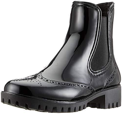 Buffalo Damen PTH Gummistiefel, Schwarz (Black 01 001), 41 EU