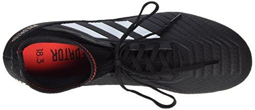 adidas Herren Predator 18.3 SG Fußballschuhe Schwarz (Core Black/ftwr White/solar Red Core Black/ftwr White/solar Red)