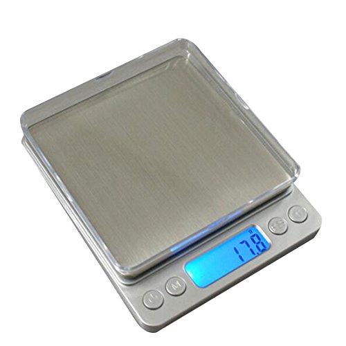 rongwen Cuisine Ménage Scales LCD Digital Scale électronique Cuisine Nourriture Diet Pocket Scales 3000g/0.1g