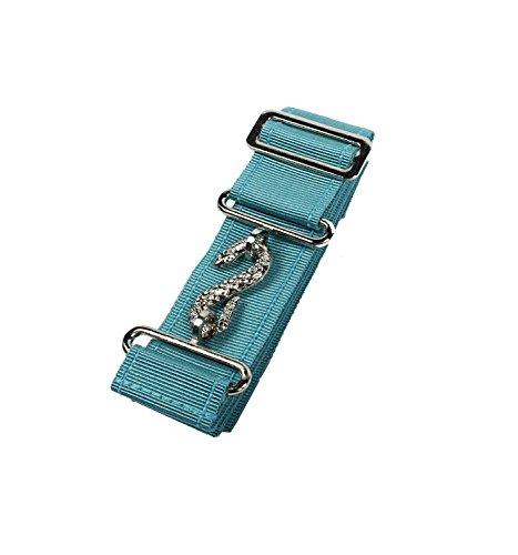 High Quality Masonic Regalia Apron Belt Extender (Sky Blue Silver Fitting)