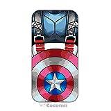 Cocomii Iron Man Armor iPhone XR Hülle [Strapazierfähig] Taktisch Griff Ständer Stoßfest Gehäuse [Militärisch Verteidiger] Ganzkörper Case Schutzhülle for Apple iPhone XR (I.Captain America)
