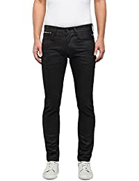 Replay Anbass Coin Zip, Jean Slim Homme