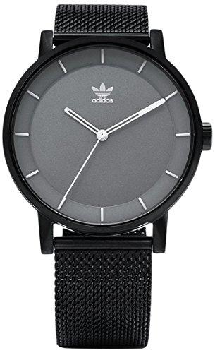 Adidas Herren Analog Quarz Uhr mit Edelstahl Armband Z04-2068-00