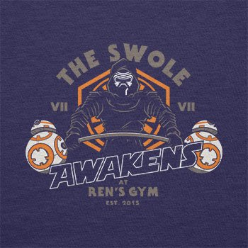 TEXLAB - The Swole - Herren T-Shirt Navy