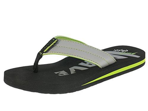 Beppi sandales Teenager badelatschen séparateurs d' Gris - Gris