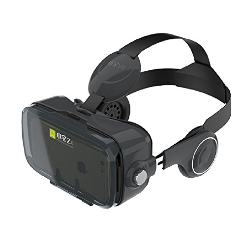ynxing Virtual Reality 3D-Brille 3D VR Headset Virtual Reality Box f kompatibel mit iPhone 6Â Plus Samsung Galaxy S6Â Edge + und andere 10,2Â cm ~ 15,2Â cm Smartphones.