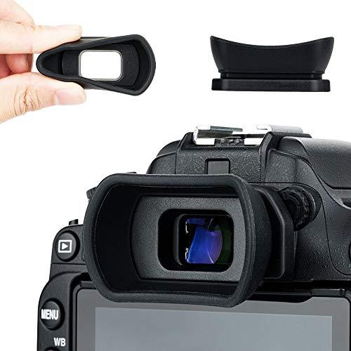Kiwifotos Augenmuschel Okular für Nikon D7500 D5600 D3500 D750 D7200 D7100 D7000 D5500 D5300 D5200 D5100 D3400 D3300 D3200 D3100 D610 D600 Ersatz Nikon DK-20 DK-21 DK-23 DK-24 DK-25 DK-28 Eyepeice Cup -