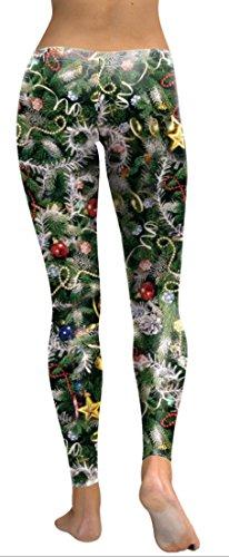 Belsen Damen Leggings schwarz schwarz X-Large baum