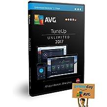 AVG TuneUp 2017 | Dispositivos Ilimitados | 1 Año