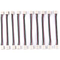 10 x 19 MODE 12A / 12V Mini regolatore di RGB LED Striscia IMPERMEABILE RGB (Regolatore Connettore)