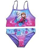 Frozen Bikini Die Eiskönigin Anna ELSA Disney (Flieder, 110-116)