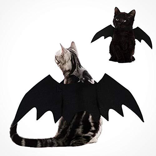 Kostüm Kerl Einen Für - Smoro Halloween Haustier Kostüm Fledermaus Flügel Cosplay Hund Kostüm Katze Kostüm für Party