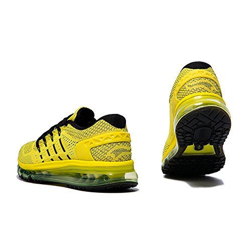 Onemix Homme Air Baskets Course Gym Fitness Sport Chaussures yellow