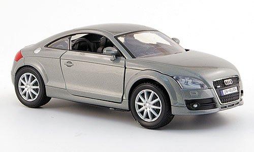 Audi TT Coupe, silber, 2006, Modellauto, Fertigmodell, Motormax 1:24