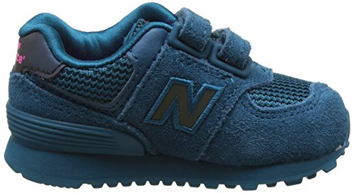New Balance 574 - Sneakers Basses Mixte Enfant Bleu (Blue)