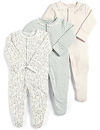Mamas & Papas, Pelele para Bebés (Pack de 3)