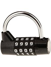 MagiDeal 5 Dígitos Candado Cerradura de Seguridad Equipaje Viaje