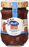 Hero Light Confettura Lamponi - 1 Confezione da 8 Vasi x 280 g