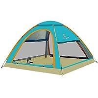 ZWJ-JJ Totalmente automático Carpa camping al aire libre, 3-5 personas, poliéster 190T tela, 1 Segundo Abiertas velocidad, prueba de lluvia Protector solar, conveniente for picnic Beach Park Lawn Camp