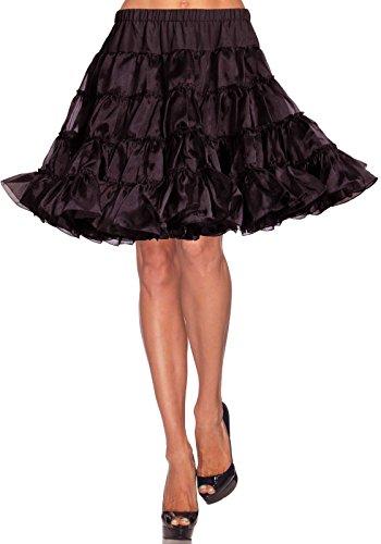 ifrock style Deluxe petticoat - Einheitsgröße, schwarz (Deluxe Märchen Kostüme)