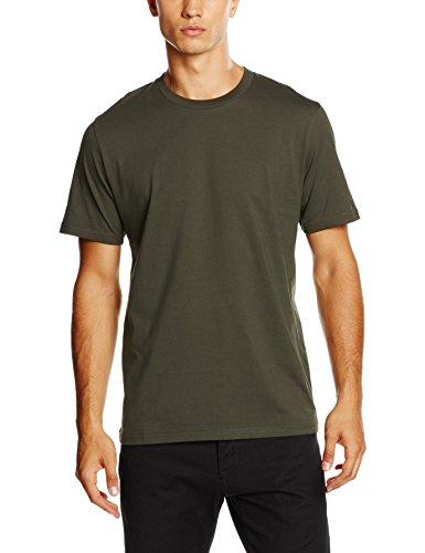 Carhartt Herren S/S Base T-Shirt Grün (CYPRESS/BLACK)