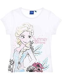 a88cb33d6 Frozen Niñas Camiseta De Manga Corta