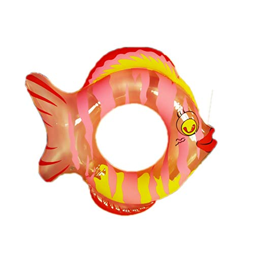 Sucastle gonfiabile forma di pesce giochi cavalcabile estate materassino gonfiabile galleggiante per nuoto in piscina, pvc acqua gonfiabile giocattolo 80cm