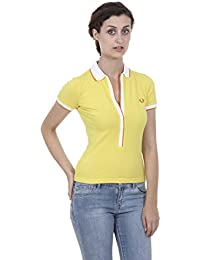 Fred Perry Fred Perry Womens Polo 31162067 0034 GIALLO