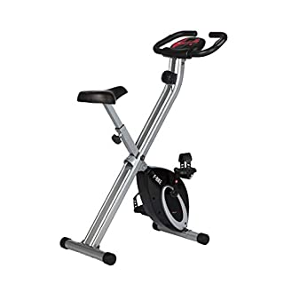 Ultrasport F-Bike Bicicleta estática de Fitness, Aparato doméstico, Plegable con Consola y sensores de Pulso en Manillar, sin Respaldo, Unisex, Negro (B003FSTA0U) | Amazon price tracker / tracking, Amazon price history charts, Amazon price watches, Amazon price drop alerts