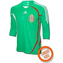 adidas - Mexico 1ª Camiseta Junior 08/09 Hombre Color: Verde Talla: 14
