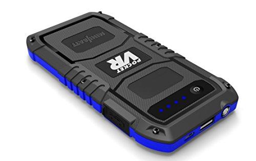 STR – Miniarrancador para coches 12.000 mAh de MiniBatt- Jump starter multifunción para emergencias 12V