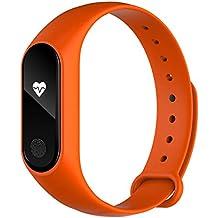 pulsera de actividad Detección del ritmo cardíaco del sueño Contador de pasos Pantalla OLED de posicionamiento