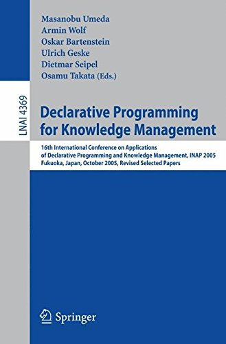 [(Declarative Programming for Knowledge Management