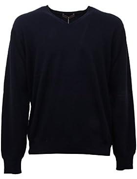 D6250 maglione uomo blu CRUCIANI cashmere sweater man [54]