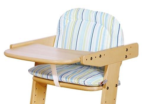 Pinolino 59585-2S - Sitzverkleinerer Treppenstuhl, Stoff Streifen