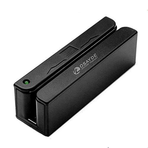MSR90 USB Magnetic Strip Card Reader 3 Tracks Mini Mag Hi-Co Swiper by Card Device