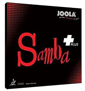 Joola - Revêtement Samba Plus de tennis de table - Rouge 2mm