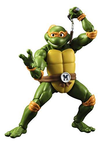 Las Tortugas Ninja - Michelangelo Figura, 15 cm (Bandai BDITM095088)
