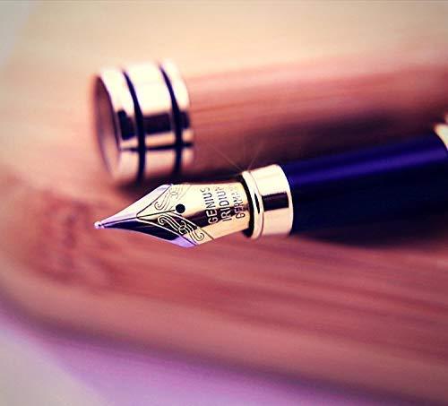 Füllhalter Füllfederhalter Füller Kaligraphie Füllhalter mit Luxus Bambus-Füllfederhalter