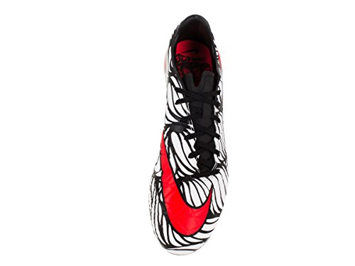 Nike Herren Hypervenom Phelon Ii Njr Fg Fußballschuhe Schwarz / Weiß (Schwarz / Hell Hochrot-weiß)