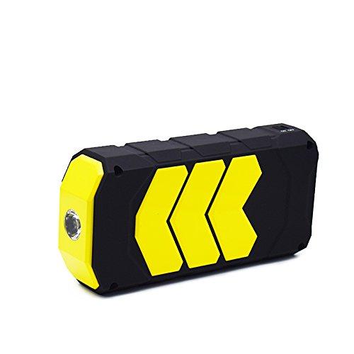 Preisvergleich Produktbild upintek tragbar Auto Jump Starter Akku Booster Pack Power Bank mit LED-Taschenlampe für Handy Tablet und mehr,  2, 5 l Benzin Motor Max