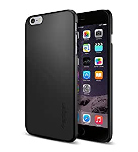 AINCB INDIA Premium Scratch Resistant Metal Hard Back Cover For Apple iPhone 6G - Black
